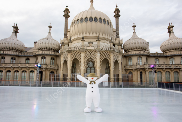 The Snowman at Royal Pavilion Brighton