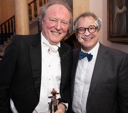 Andrew Bernardi and Rupert Toovey
