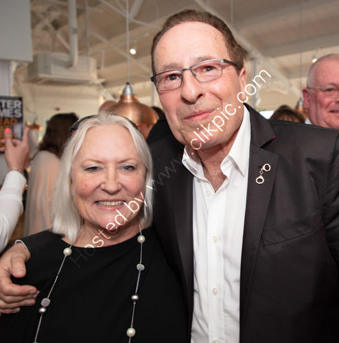 Martina Cole and Peter James