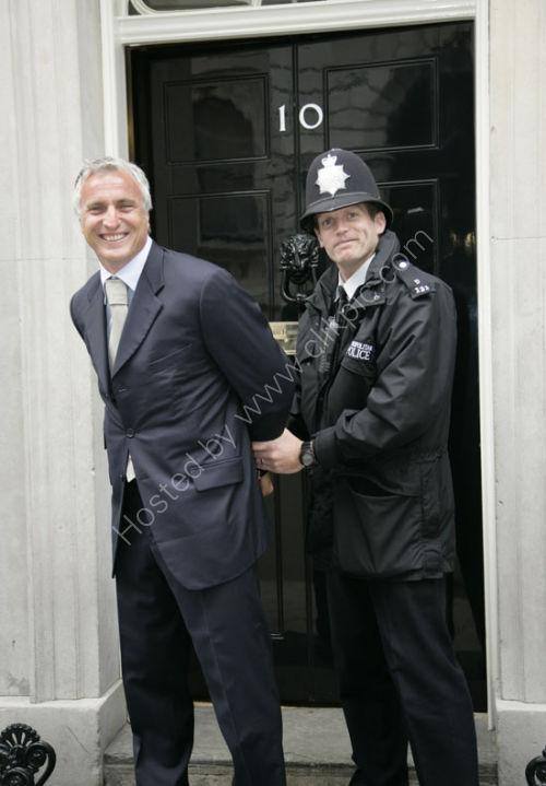 I arranged for David Genola to be arrested!