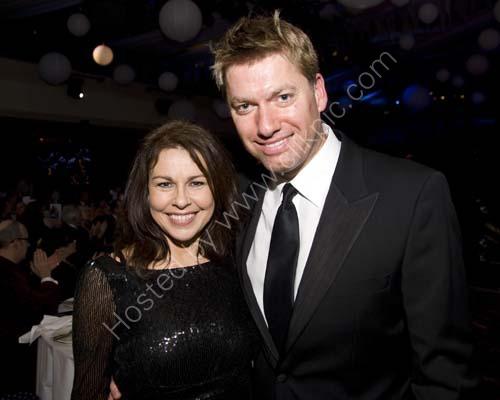 Julie Graham and Steve Bennett