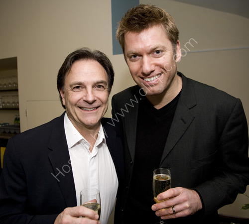 Brian Capron and Stephen Beckett