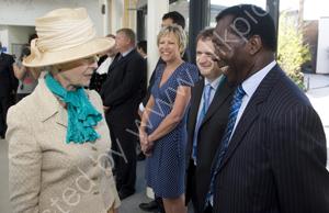Princess Alexandria meets Ambrose Harcourt
