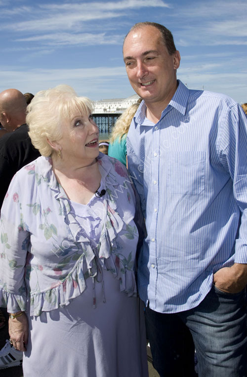 Denise Robertson giving Mike Weatherley MP advice?