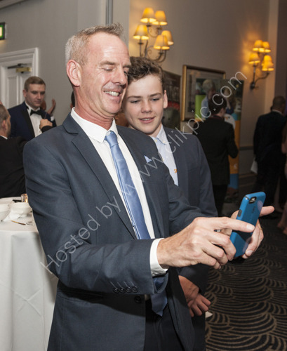 A selfie for Norman Cook and Woody