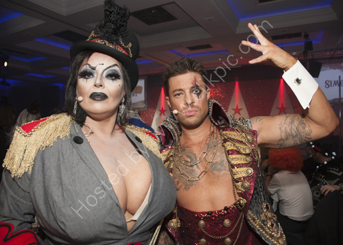Duncan James from Blue with Dolly Rocket