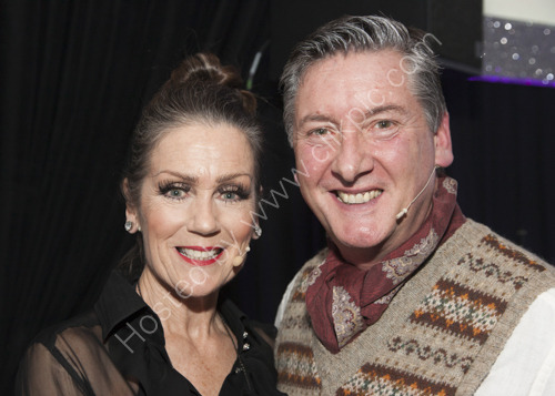 Lorraine Chase and Robin Cousins