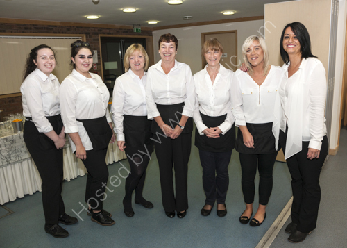 Catering team at Lodge Hill