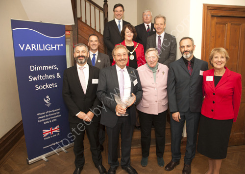 Varilight receives the Queen's Award for Innovation