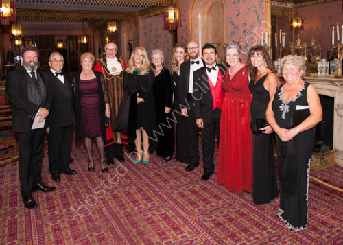 Mayor's Gala Dinner Royal Pavilion Brighton
