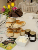 Cream tea at Cowdray Park