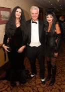 Simon Kirby MP and family at Rocky Horror Show for Sussex Beacon