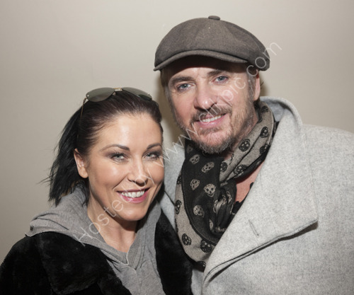 Jessie Wallace and Shane Richie