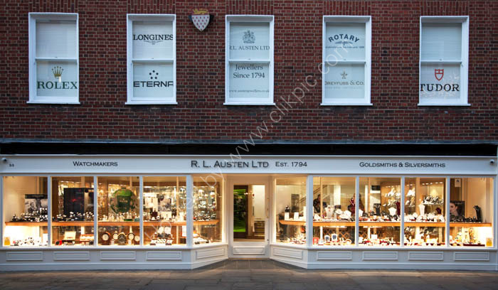 RL Austen new store in Chichester