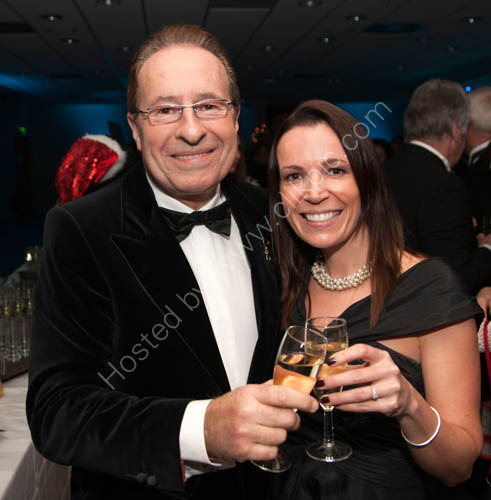 Snowman Ball Spectacular Peter James and Lara Loveys