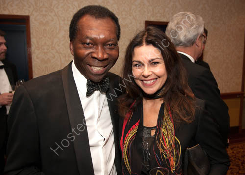 Ambrose Harcourt and Julie Graham