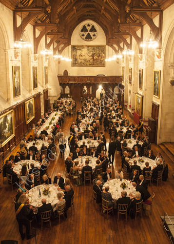 Dinner in Arundel Castle
