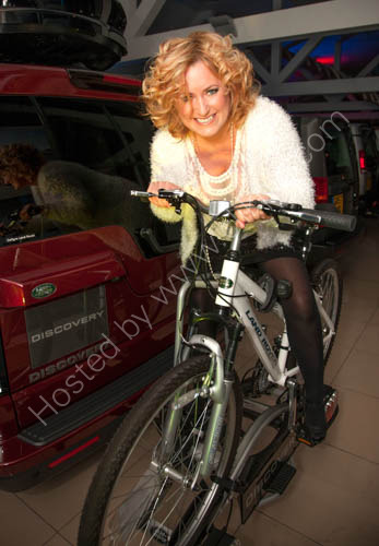 Julie Anne Gilburt at New Land Rover Discovery Launch at Caffyns