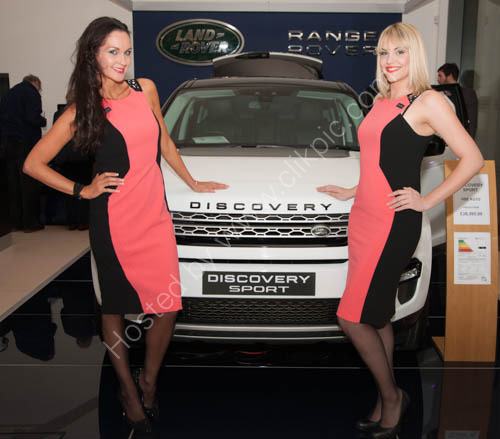 New Land Rover Discovery Launch at Caffyns