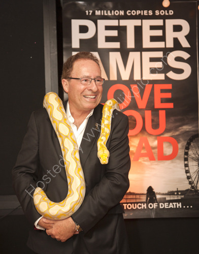 Peter James Book Launch