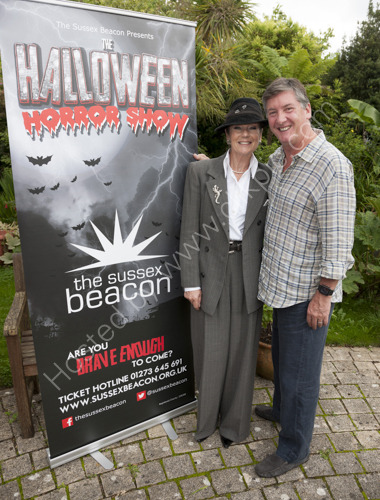 Lorraine Chase and Robin Cousins at Sussex Beacon