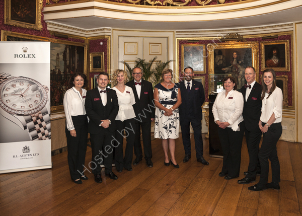 RL Austen at Goodwood House
