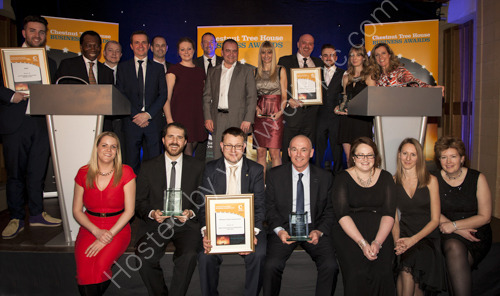 Chestnut Tree House Business Awards 2015