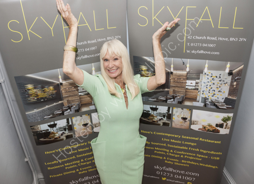 Carol Cleveland at Skyfall Hove Birthday