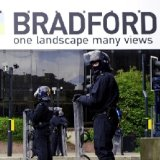 Riot Police in Bradford