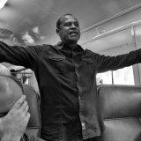 Preacher on train