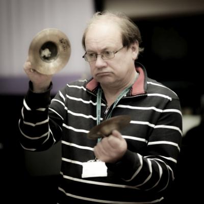 BBC radio 3 Symphony Orchestra percussionist