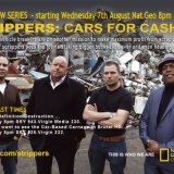 Flyer for Nat Geo show 'Strippers:Cars For Cash'