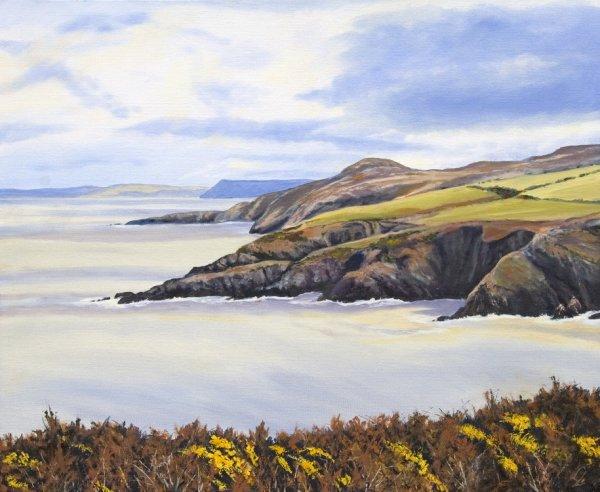 Across Aber Felin Pembrokeshire