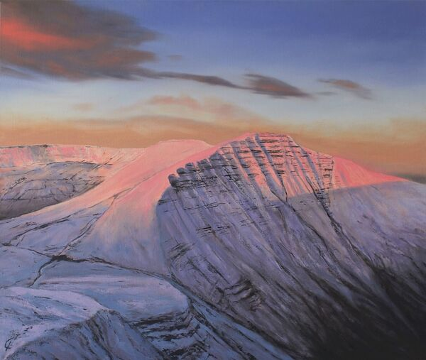 Brecon Beacons Winter Sunrise