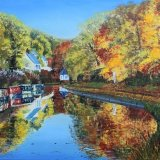Canal at Stourton In autumn