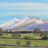 Skiddaw & Little Man from Nest Brow