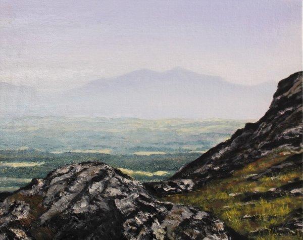 Snowdon from Holyhead Mountain