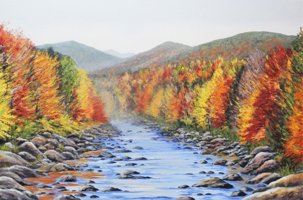 Swift River & Fall Foliage New Hampshire