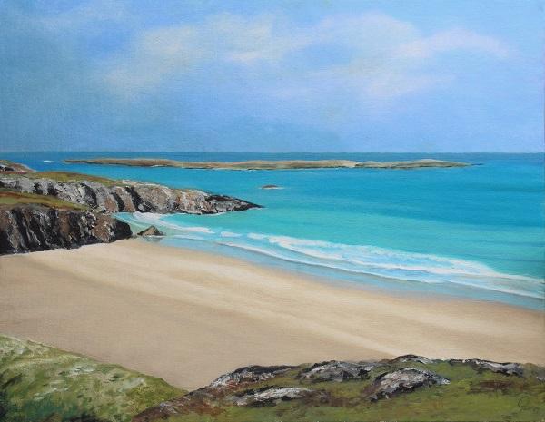 Tranquility - Ceannabeinne beach Scotland