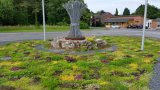 Myerscough College Roundabout Tapestry Lawn