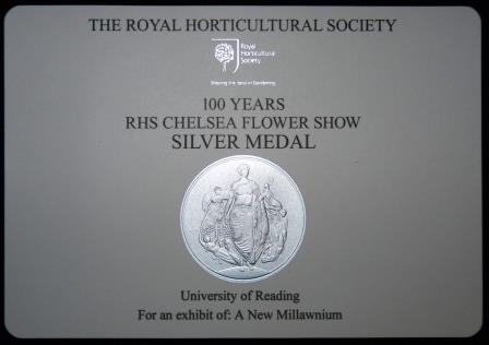 Centenary RHS Chelsea Flower Show Medal 2013