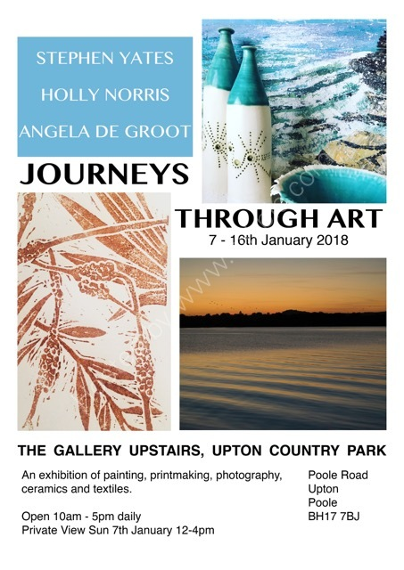 Journeys Through Art at Upton Country Park 2018