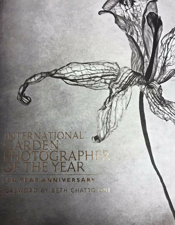 International Garden Photographer of the year Awards 2017.So wonderful to be included in this beautiful book.