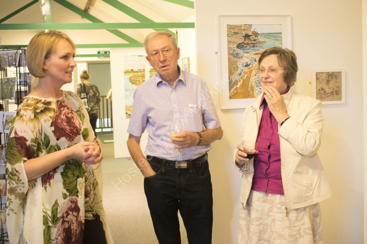 Unknown Island Exhibition Opening at Upton Country Park