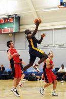 Basketball League Match