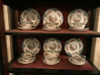 18 piece tea set