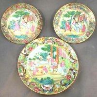 3 oriental plates
