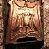 copper fire screen