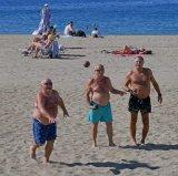 2nd Games & Pastimes - Boule on the beach John Evans-Jones