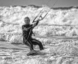 3rd Games & Pasti,es - Kite Surfer Lynda Mudle-Small